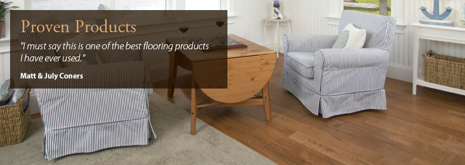 Engineered oak flooring and walnut flooring
