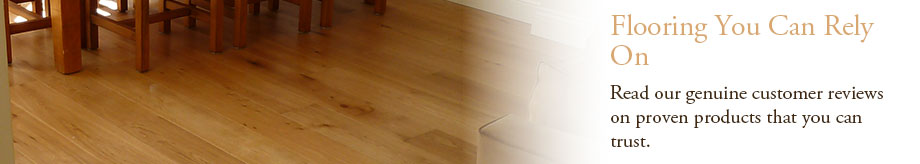 Genuine wood flooring customer reviews