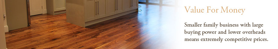 Low prices for engineered oak flooring