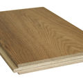 Engineered wood flooring samples