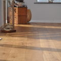 Wide oak flooring