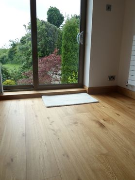 Classic Engineered 190mm Wide And 15mm Thick Oak Flooring