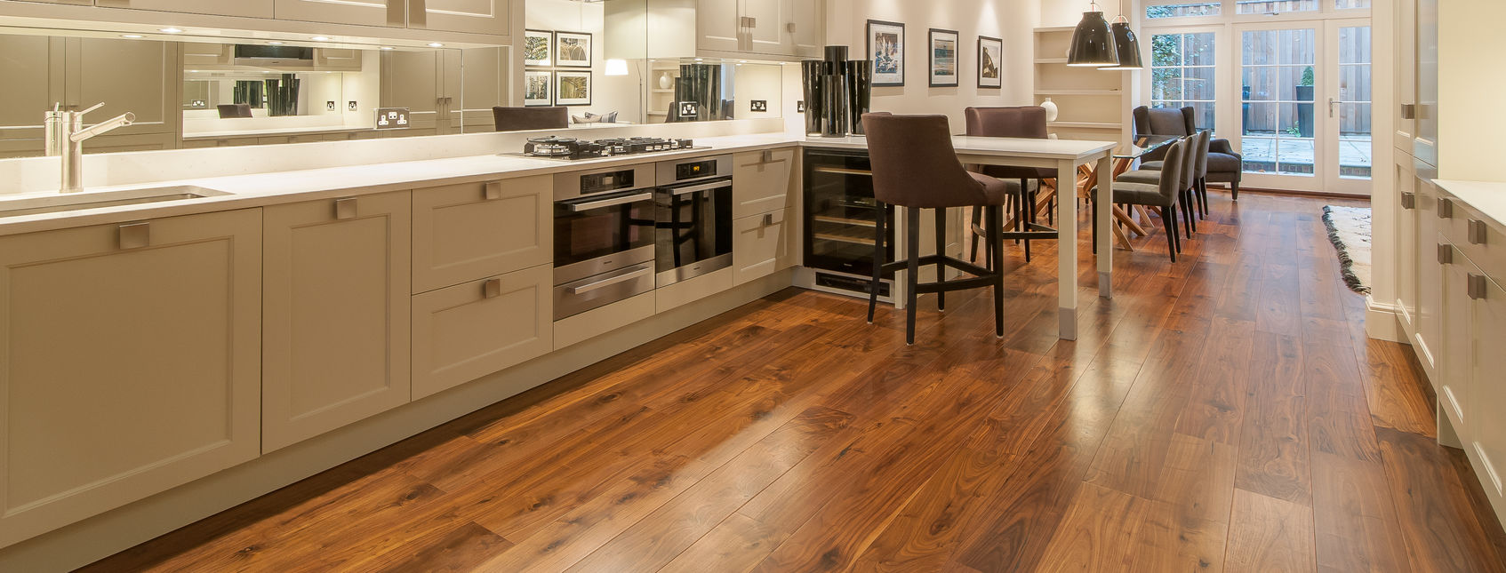 real walnut flooring, engineered timber