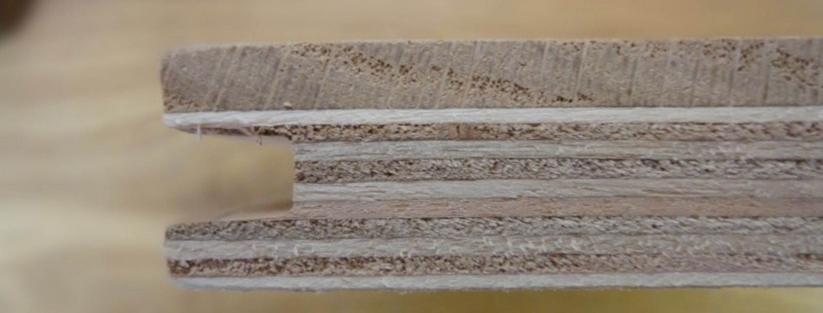 Image of layers used in the best engineered wood flooring