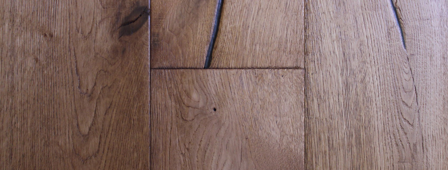 Textured engineered oak flooring