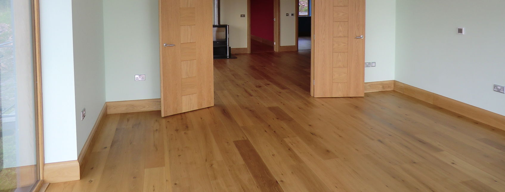 Matching In A New Wooden Floor With An Existing Wooden