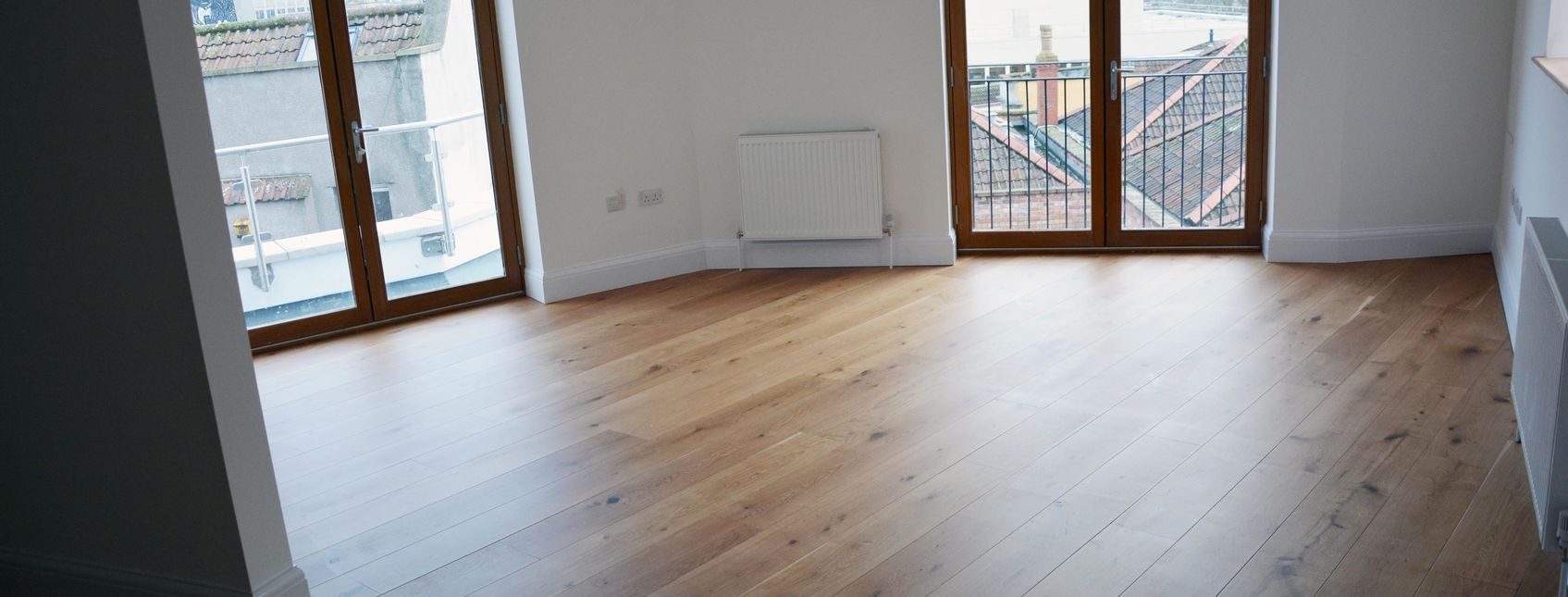 Engineered Oak Floor in Office
