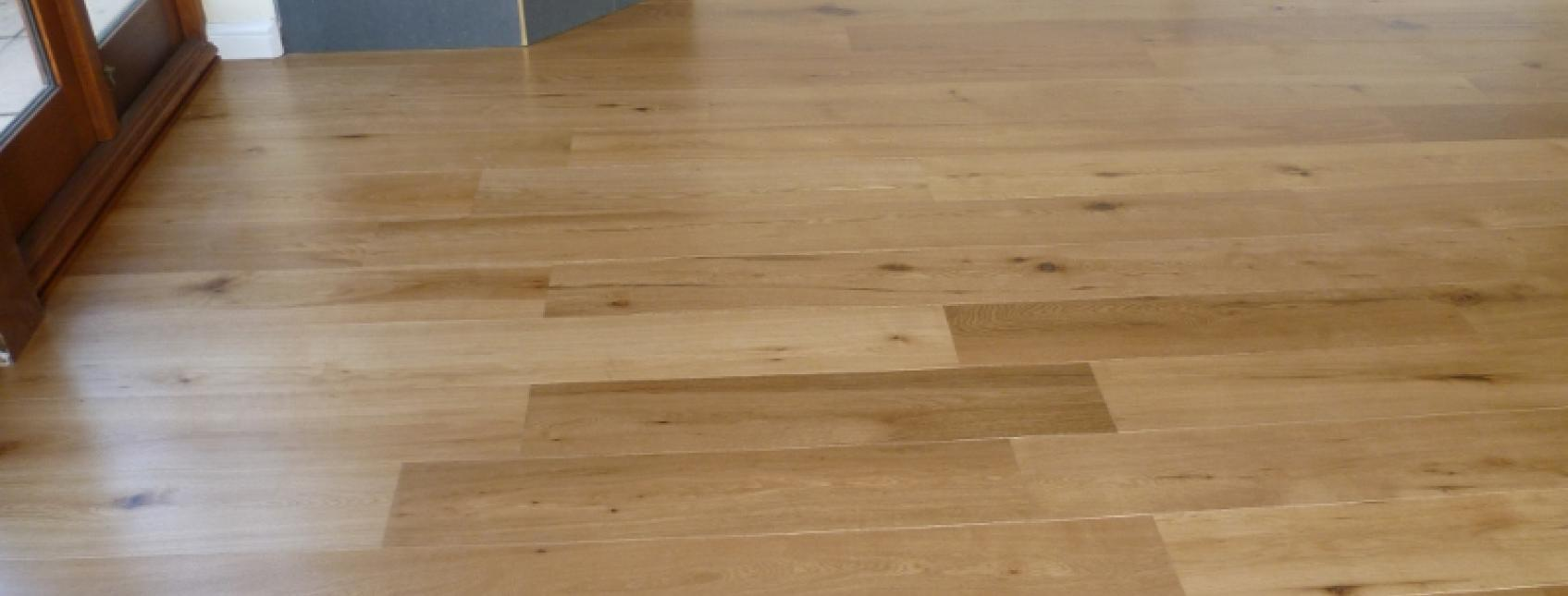 natural oak finish on clear wax