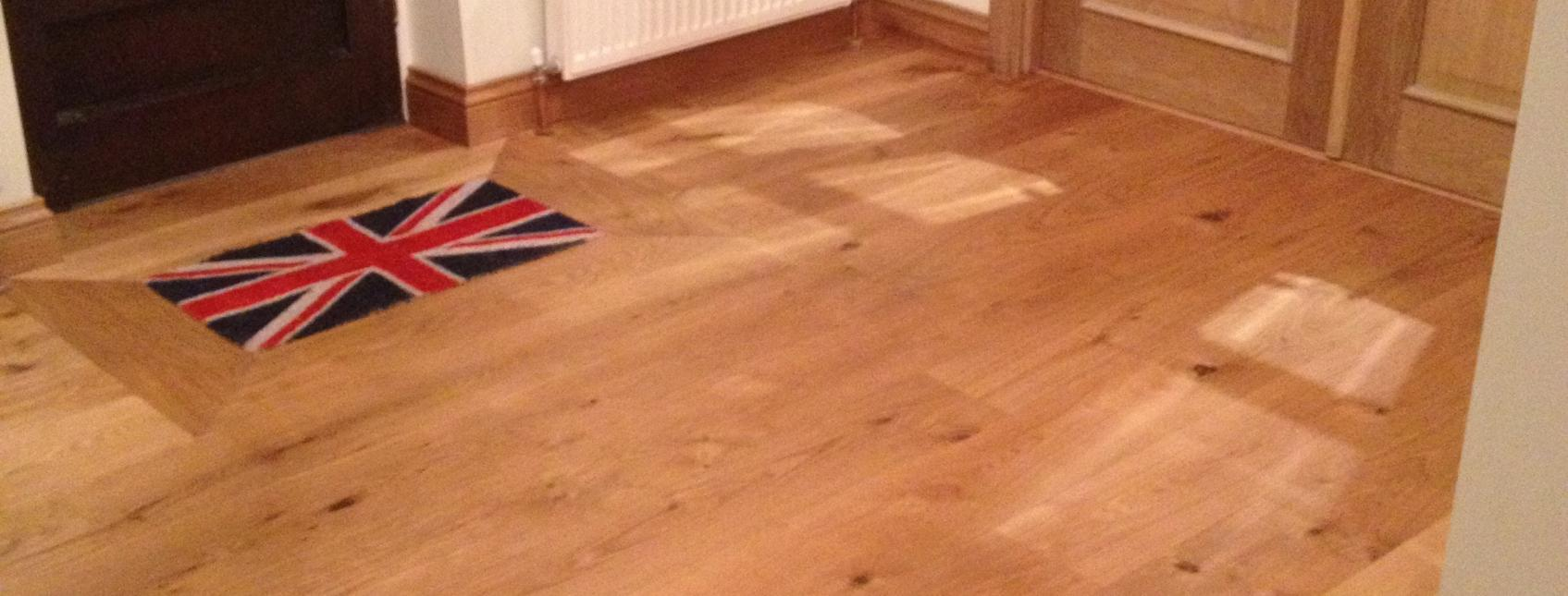 190mm x 21mm Engineered Oak Floorboards