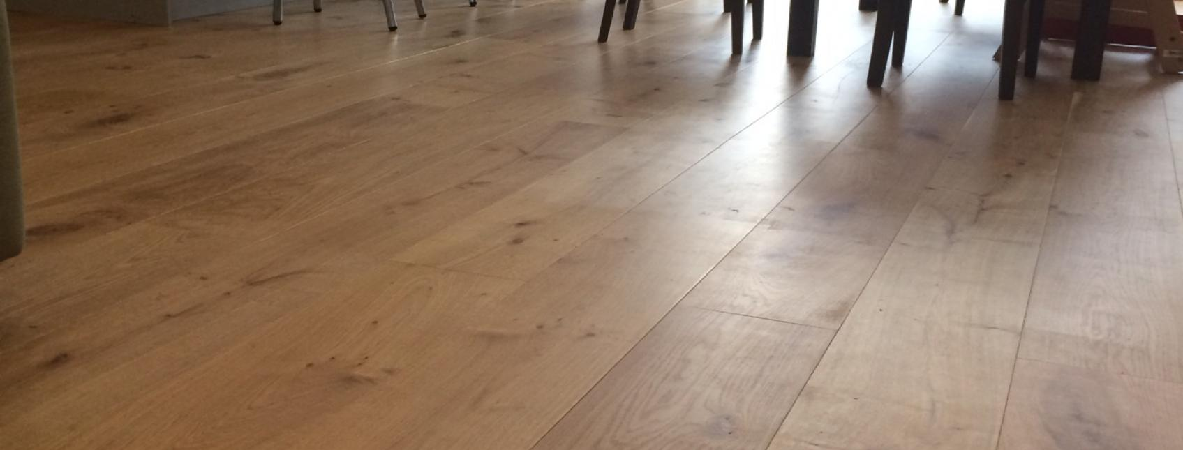 Engineered wood flooring at a house in Harrow
