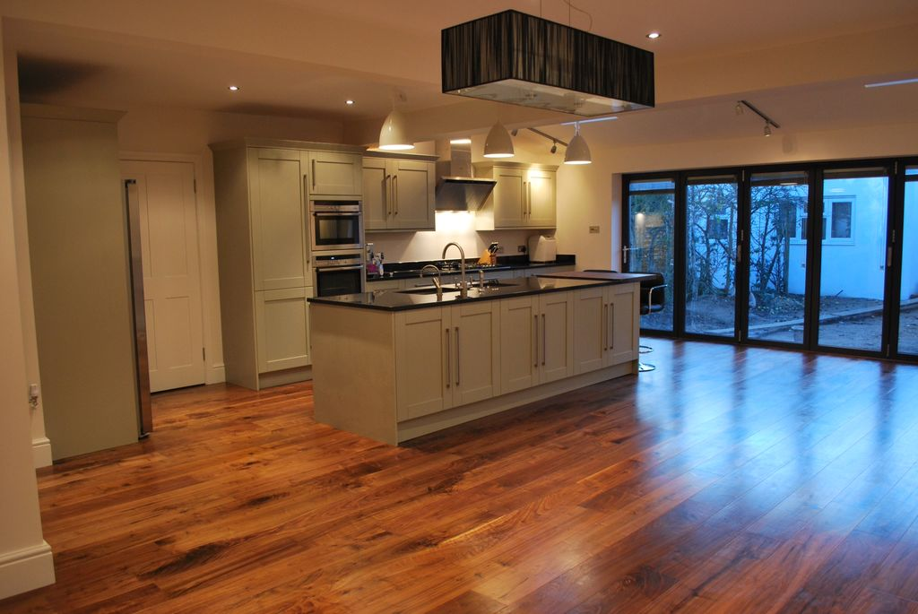 Pictures Of Installed Supreme Engineered Walnut Flooring In London
