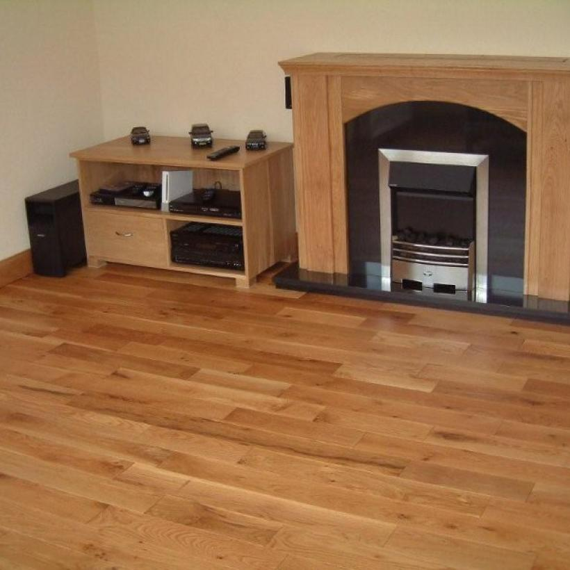Solid European Oak Flooring | 120mm Wide