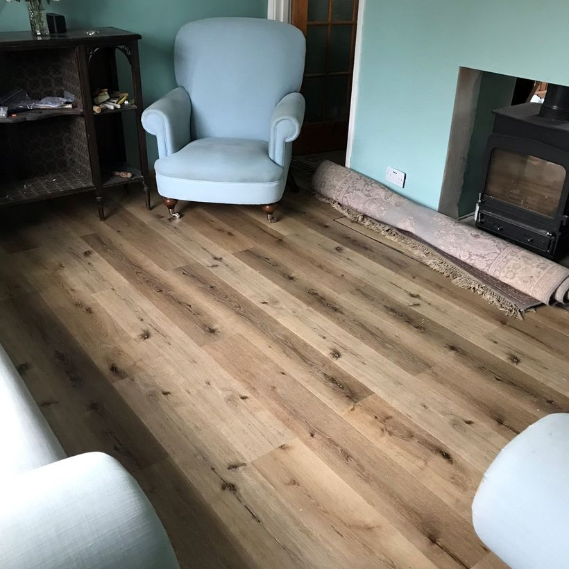 WPC Acorn Oak - Customer Photo
