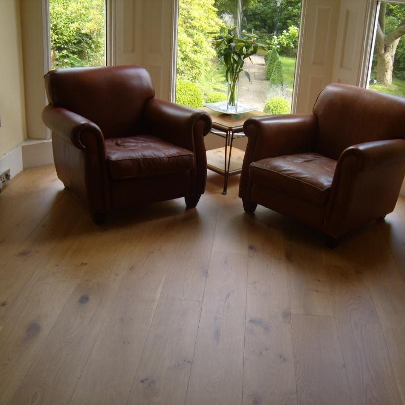 220mm Wide Oak Floorboards