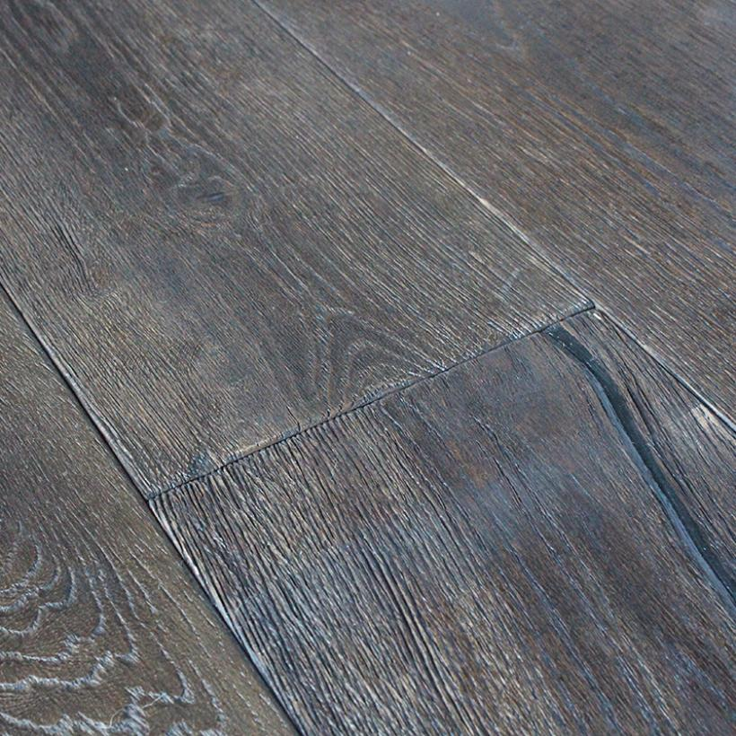 Rustic Black Oak Flooring