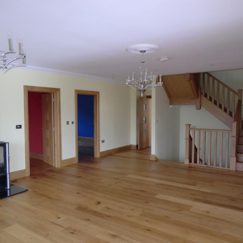 JFJ Wood Flooring - 'Supreme' 190mm Engineered Oak