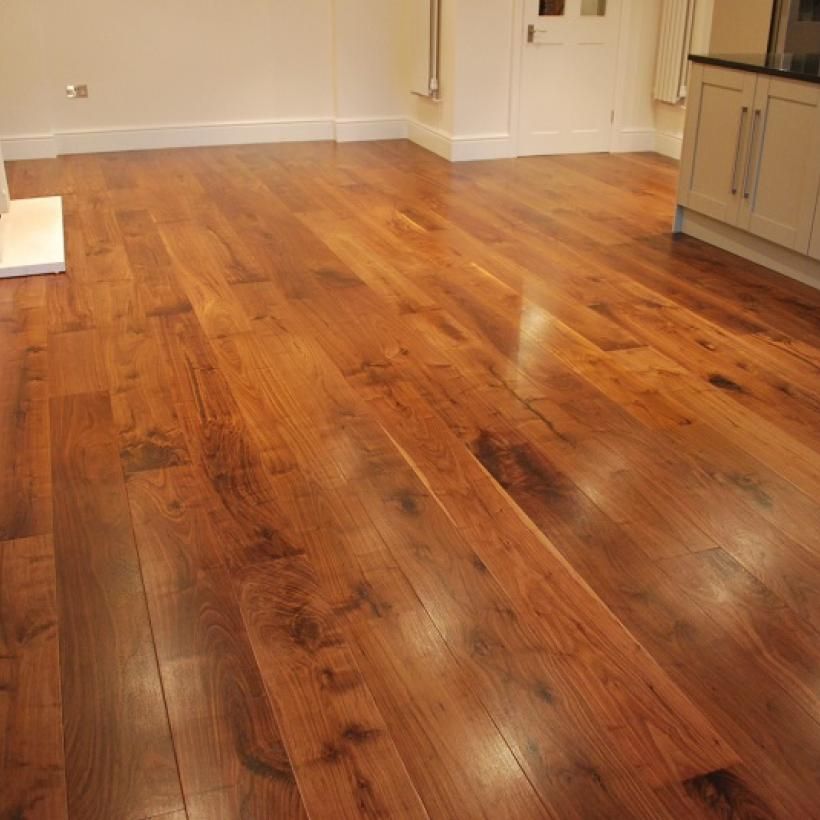 'Supreme' Walnut with Clear Satin Treatex Hardwax Oil