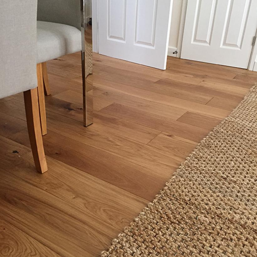 190mm Wide x 14mm Thick x RL Engineered Oak Boards