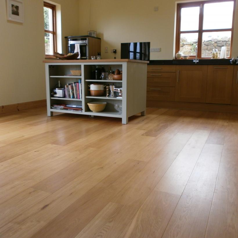 'Classic' Engineered Oak Flooring | 190mm