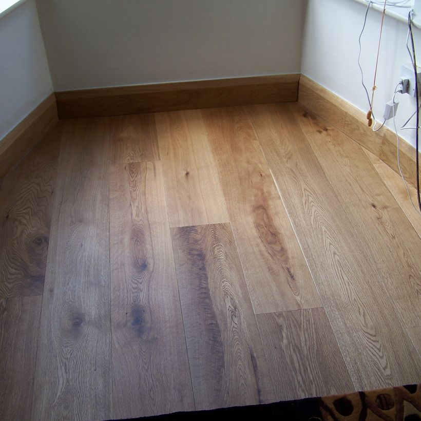 Oak Skirting Board Example