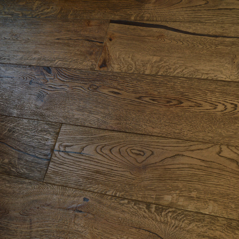 Slate Treatex Colour Tone of distressed engineered oak flooring