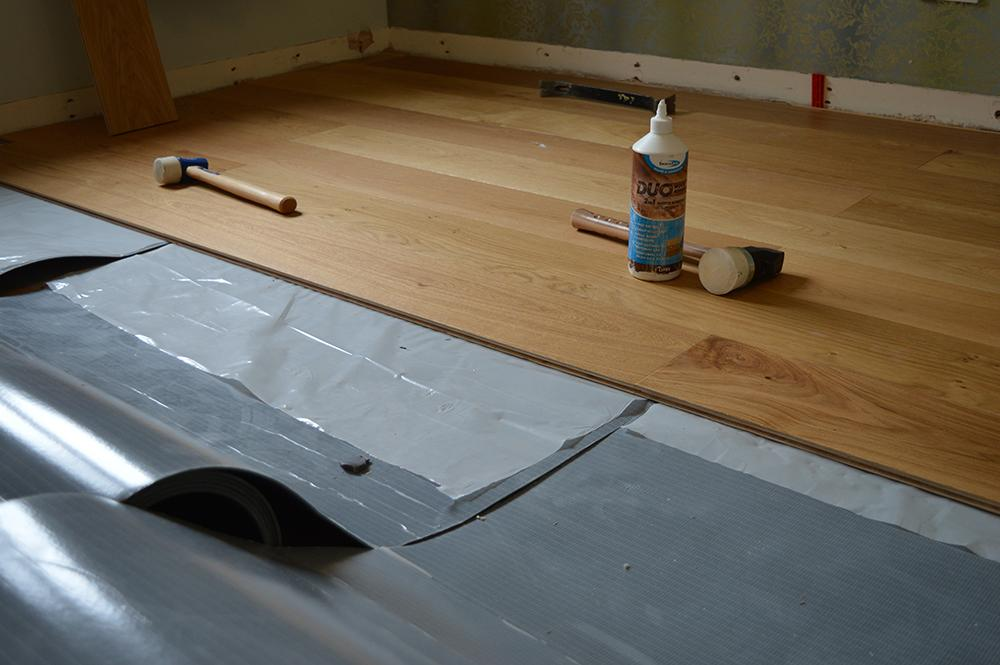 Fitting An Engineered Or Solid Wood Floor