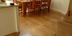 Natural European Engineered Oak Flooring with Clear Matt Treatment