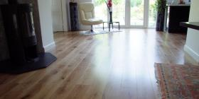 Engineered oak flooring in Surrey