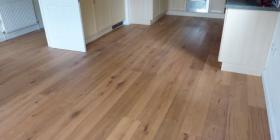 Engineered oak in an Essex kitchen