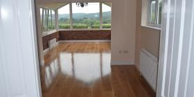 220 x 15 oak treated with satin Treatex HWO