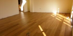 engineered oak floorboards laid in Scotland