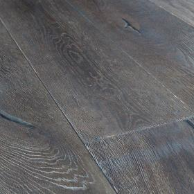 'Lundy Antique Black' Oak Flooring | 220mm x 15mm