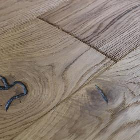 'Lundy Acorn Gold' Distressed Oak Flooring