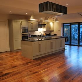 Engineered American Black Walnut Flooring in London